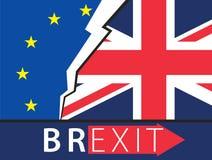 Brexit Great Britain leaving EU Royalty Free Stock Photos