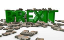 BREXIT - Großbritannien, welches die Europäische Gemeinschaft verlässt Lizenzfreies Stockfoto