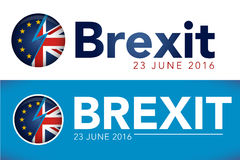 BREXIT 2016 Header Image Stock Photography