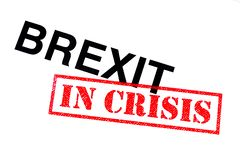 Brexit In Crisis royalty free stock image