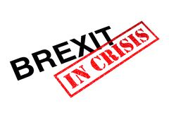 Brexit In Crisis stock photography