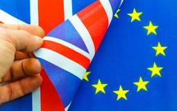 Brexit het Britse referendum van de EU Royalty-vrije Stock Foto's