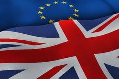 Brexit-Hintergrund Stockfoto