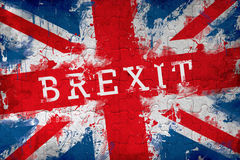 Brexit jigsaw puzzle Royalty Free Stock Image