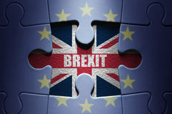 Brexit-Konzept stockfoto