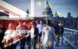 Brexit-Konzept stockbild