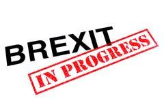 Brexit laufend lizenzfreies stockfoto
