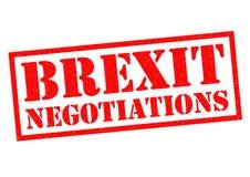 BREXIT negocjacje Obraz Stock