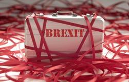 Brexit pappersexercis royaltyfria bilder
