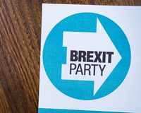 Brexit Party royalty free stock photo