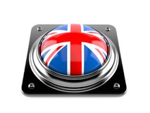Brexit push button Royalty Free Stock Photo