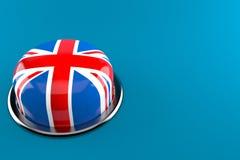 Brexit push button vector illustration
