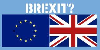 Brexit R-U Image libre de droits