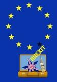 Brexit R-U Photos stock