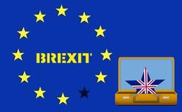 Brexit R-U Photographie stock libre de droits