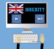 Brexit R-U Photo libre de droits