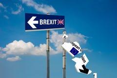 Brexit-Referendum Stockfotos