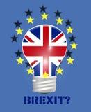 Brexit Reino Unido Imagens de Stock Royalty Free