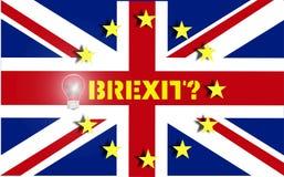 Brexit Reino Unido Imagem de Stock