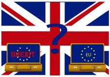 Brexit Reino Unido fotografia de stock