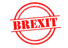 BREXIT Rubber Stamp Royalty Free Stock Images