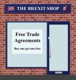 The Brexit Shop Stock Photos