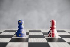 Brexit strategy concept Royalty Free Stock Photography