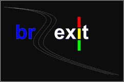 Brexit.  Time for the right decisions there is always time as have traffic light. Brexit. Time for the right decisions there is always time as have traffic vector illustration