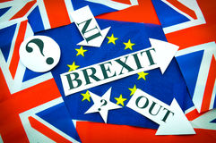 Brexit UK EU referendum stock photography