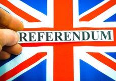 Brexit UK EU referndum Stock Image