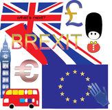 Brexit UK EU, what's next Royalty Free Stock Photography