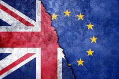 Brexit. UK Brexit, European Union broken