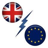 BREXIT UK Referendum Royalty Free Stock Photos
