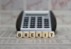 Brexit. United kingdom vote for Brexit royalty free stock images
