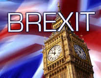 BREXIT - Uscita di Britains dall'unione di Europen Fotografie Stock Libere da Diritti
