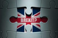 Brexitconcept stock afbeeldingen