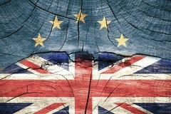 Brexitconcept Stock Foto's