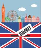 Brexite στο UK Στοκ εικόνες με δικαίωμα ελεύθερης χρήσης