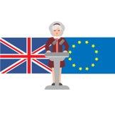 Brexite στο UK Στοκ φωτογραφία με δικαίωμα ελεύθερης χρήσης