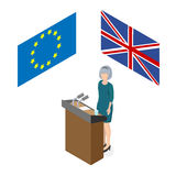Brexite in the UK. Stock Image