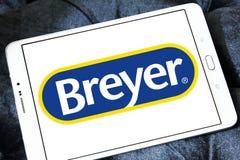 Breyer producentlogo Arkivfoton