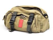 Brezentowa torba Zdjęcie Stock