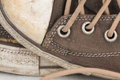Brezentowego buta szczegół Obraz Royalty Free