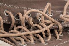 Brezentowego buta szczegół Obrazy Royalty Free