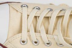 Brezentowego buta szczegół Obraz Stock