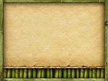 Brezentowego lub handmade papieru prześcieradła tło Zdjęcia Stock