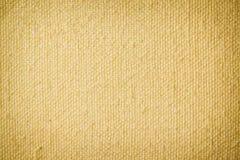 brezentowego zbliżenia stary kolor żółty Obrazy Royalty Free
