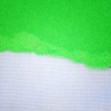Brezentowy tekstury tło i drzejący papier Obrazy Stock