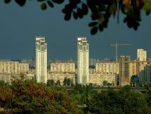 Brezza d'argento. Kiev Fotografia Stock