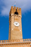 Bürgerlicher Turm - Treviso Italien Stockfotos